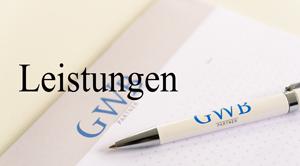 Leistungen von GWB-Partner
