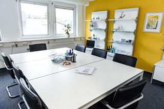 Moderne Besprechungszimmer bei GWB-Partner