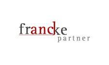 Das Logo von Francke & Partner, Partnerschaftsgesellschaft, Wirtschaftsprüfer, Steuerberater, Rechtsanwalt