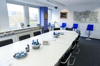 Sitzungs-Saal bei GWB-Partner