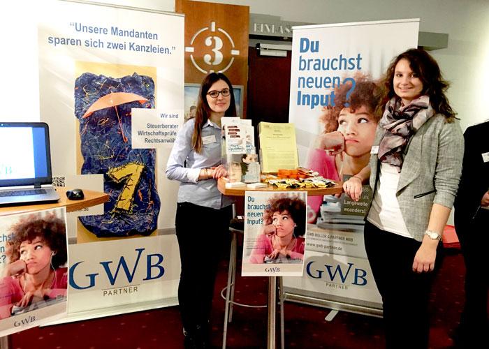 GWB Partner auf der Bildungsmesse ANSAGE ZUKUNFT