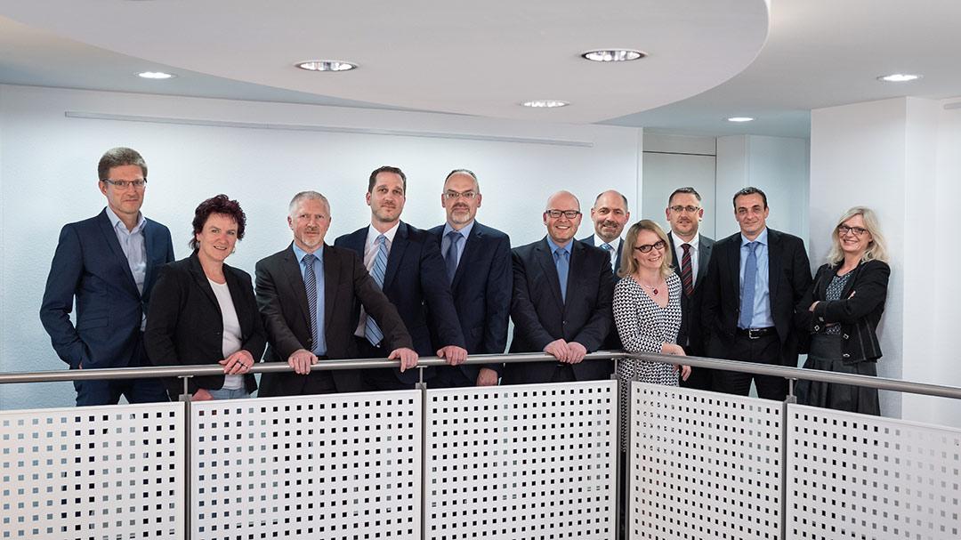 Gruppenfoto Partner GWB Boller & Partner, Steuerberater, Wirtschaftsprüfer, Rechtsanwälte, Marburg