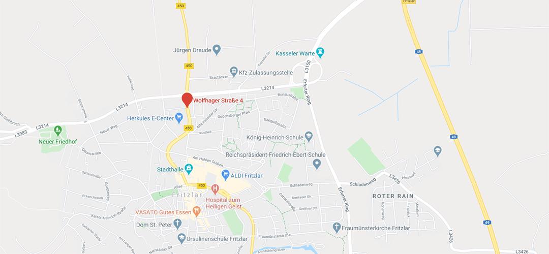 Niederlassung Fritzlar Wolfhager Straße 4, 34560 Fritzlar
