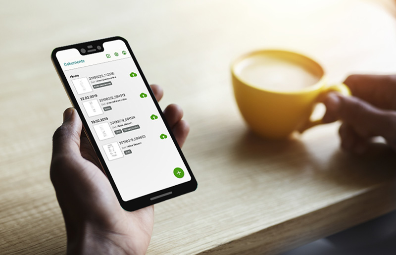 App SmartLogin für die Anwendung DATEV Meine Steuern